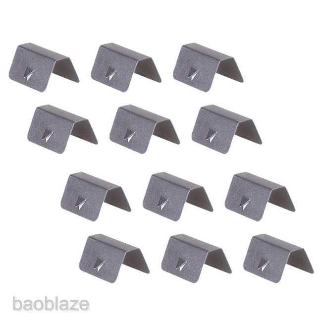 12PCS Car Wind Rain Deflector Fitting Clip Replacement For Heko G3 Sned Clip