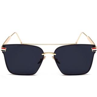 Kính mát vuông nam và nữ Tisselly TM0140 hợp thời trang lái xe chống tia cực tím GỌNG hợp kim thép phối màu đẹp thumbnail