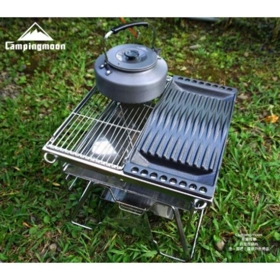 Ấm đun nước dã ngoại 1,5L Campingmoon S1500
