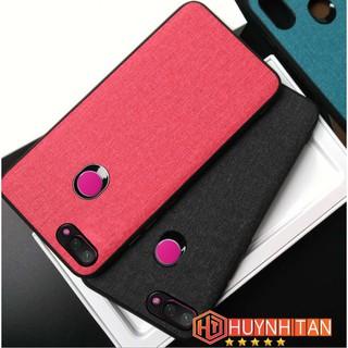 Ốp lưng Xiaomi Mi 8 Lite / Mi 8X / Mi 8 Youth chống sốc vân vải Jean (Full màu)