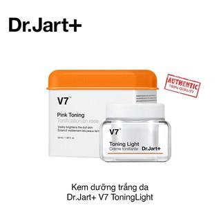 [ DATE 2023 ]Kem Dưỡng Trắng Da V7 Toning Light Dr.Jart 50Ml - Fullsize thumbnail