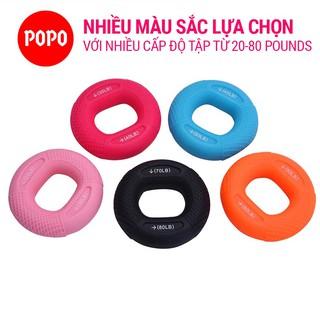 Bóp tập cơ tay vòng tròn YGW28 dụng cụ tập thể dục tập luyện trợ lực cổ tay có thể điều chỉnh tay cầm 20-80LB POPO thumbnail