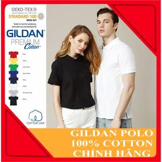 Áo thun POLO Gildan nhập khẩu (nhiều màu) chuẩn chính hãng - 100% cotton thumbnail