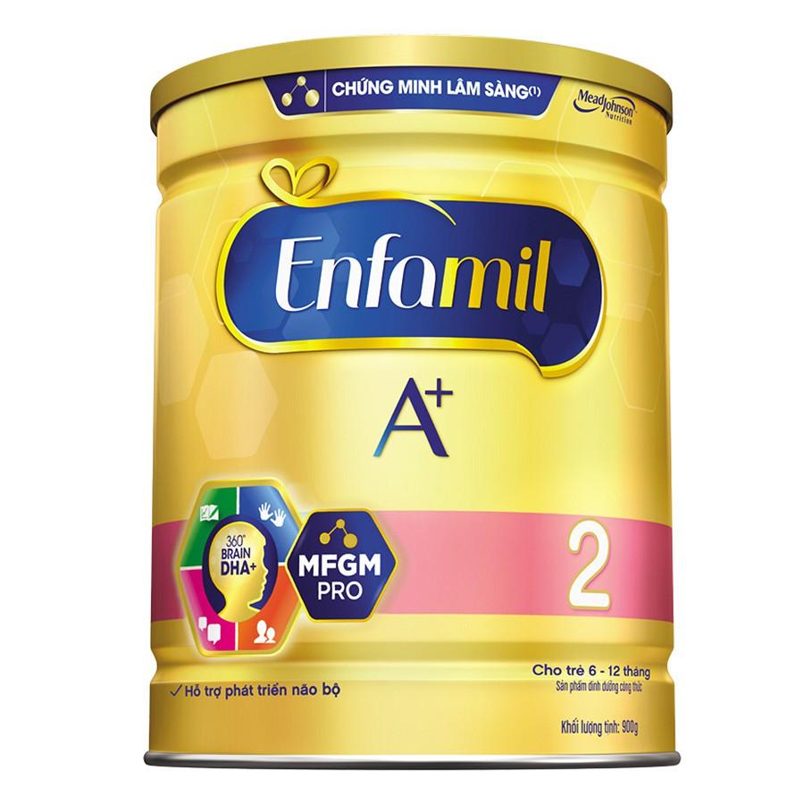 Sữa Enfamil A + 2 360° Brain DHA+với MFGM PRO 900g