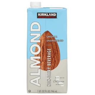 Sữa hạnh nhân Organic không đường Kirkland Signature Almond 946ml