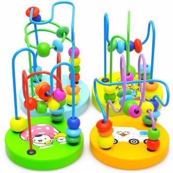 Đồ chơi trẻ em đồ chơi thông minh đồ chơi luồn tay bằng gỗ cho bé