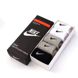 Tất Nike nam cổ ngắn – hộp 5 đôi