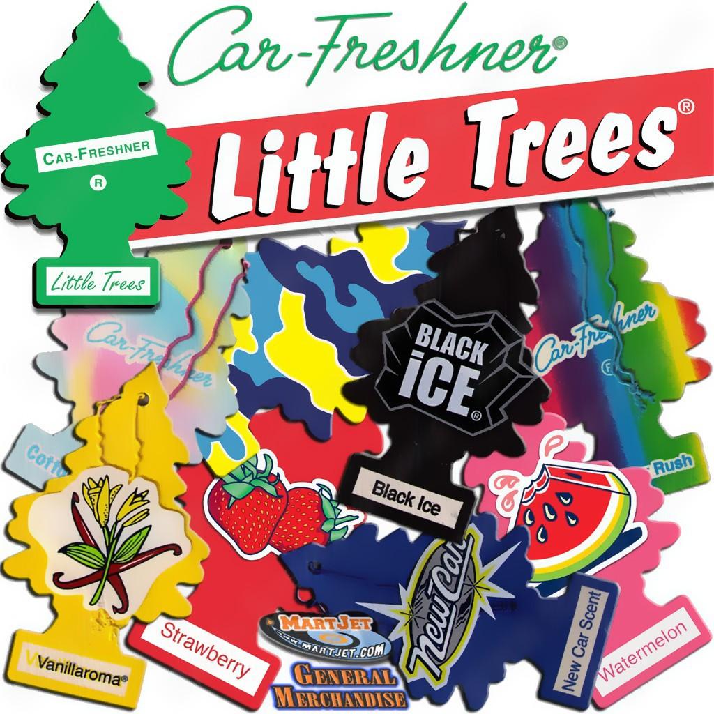Little Trees Cây thông thơm Khử mùi treo xe ô tô (tùy chọn)