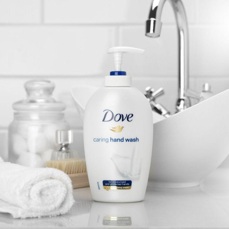 Nước rửa tay Dove mềm mịn tự nhiên/như lụa 250ml
