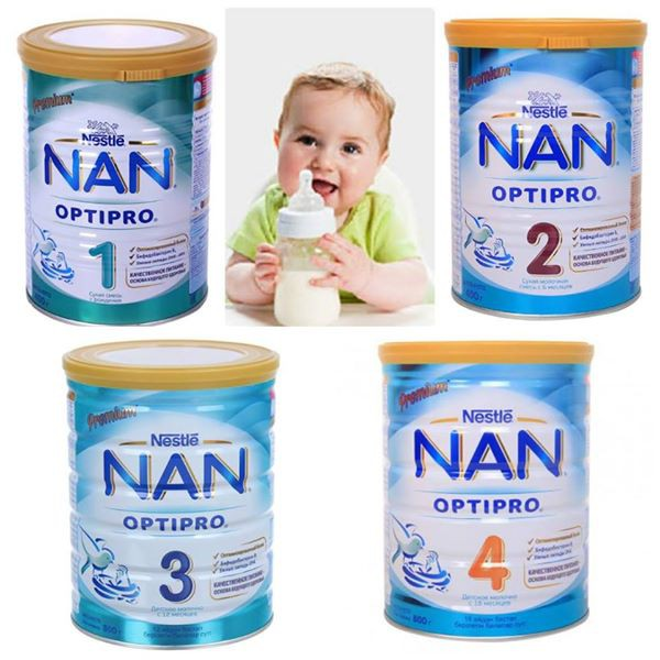 NAN NGA 1 2 3 4 800GR