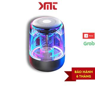 [Mã ELFLASH5 giảm 20K đơn 50K] Loa bluetooth trong suốt đèn led nhiều màu cực đẹp âm thanh vòm bass siêu trầm KMT Store