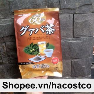 Trà Ổi Orihiro 60 túi lọc - Trà lá ổi Guava tea Nhật Bản Hỗ Trợ Giảm Cân thumbnail