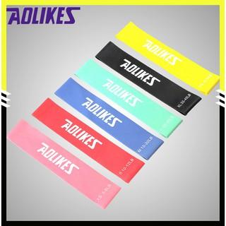 Dây kháng lực tập gym, tập chân, tập mông, dây miniband chính hãng Aolikes