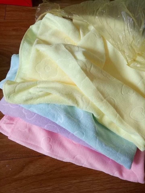 [Mã SRJULY1215 giảm 20K đơn 50K] Combo 10 khăn tắm xuất Nhật siêu hót.
