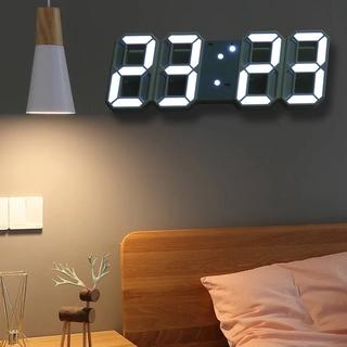 Đồng hồ LED điện tử 3D thiết kế hiện đại