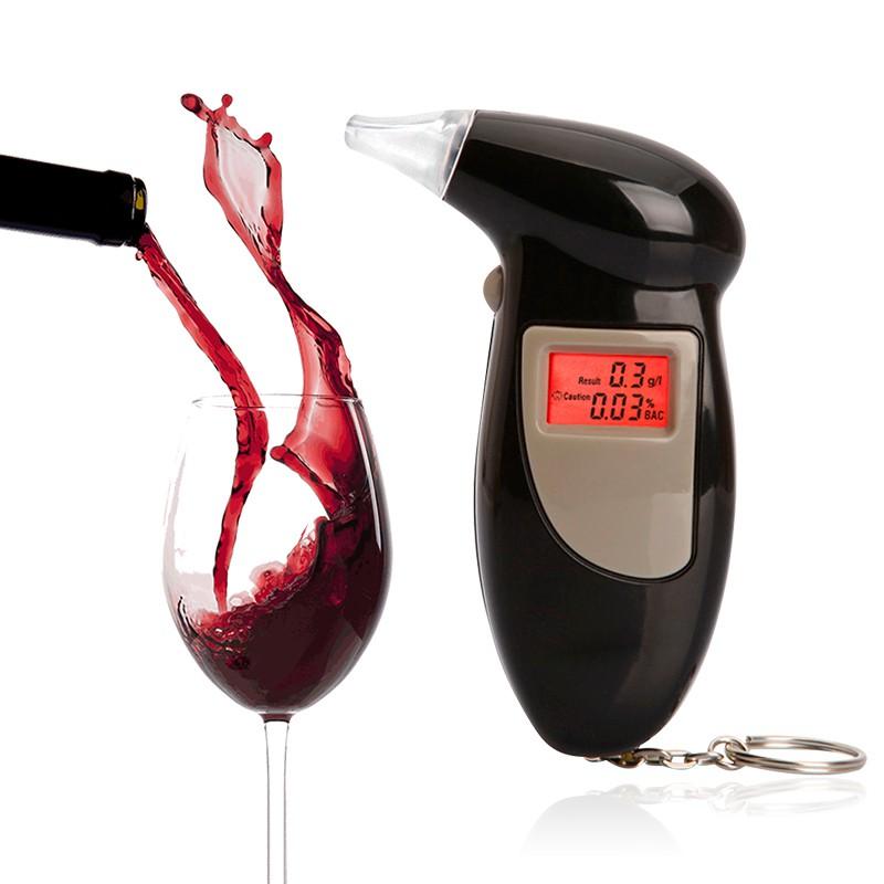 Máy Đo Nồng Độ Cồn Chính Xác Tuyệt Đối Alcohol Tester