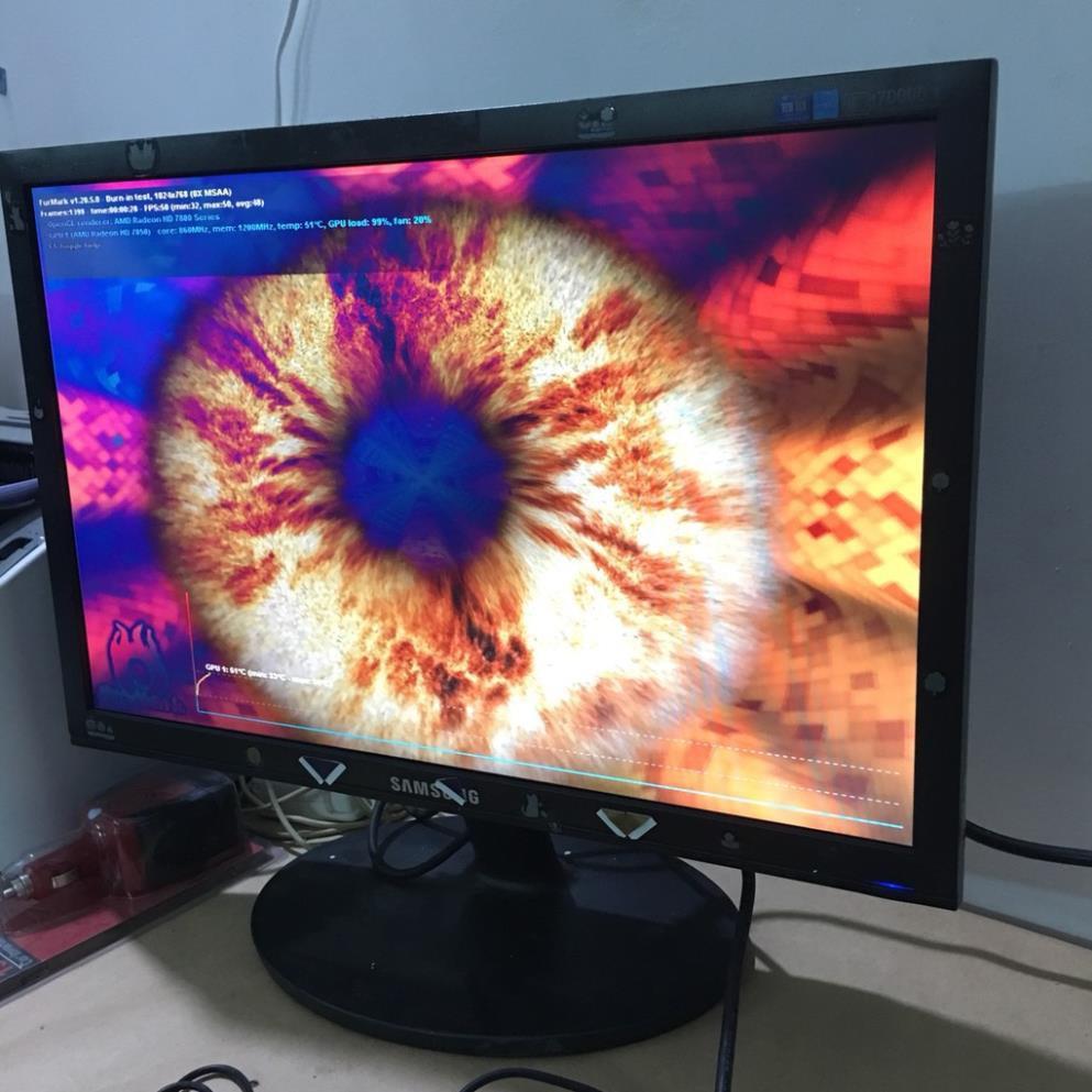 [Mã 267ELSALE hoàn 7% đơn 300K] Màn hình lcd samsung 19 icnh