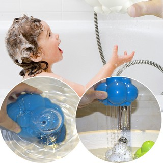 Science Nature Rain Cloud Baby Child Enlightening Bath Bathing Shower Toy