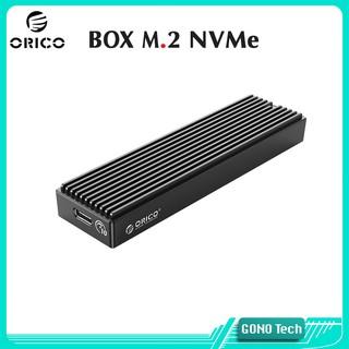 Box ổ cứng SSD M2 NVMe Orico M2PV-C3 | Chuyển M.2 PCIe to USB Type-C Hộp đựng SSD làm ổ cứng di