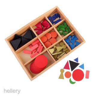 Montessori Language Material-Basic Wooden Grammar Symbols w/ Box Kids Toys