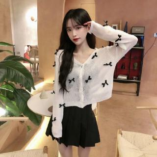 Áo Khoác Cardigan Dệt Kim Form Rộng Thời Trang Cho Nữ