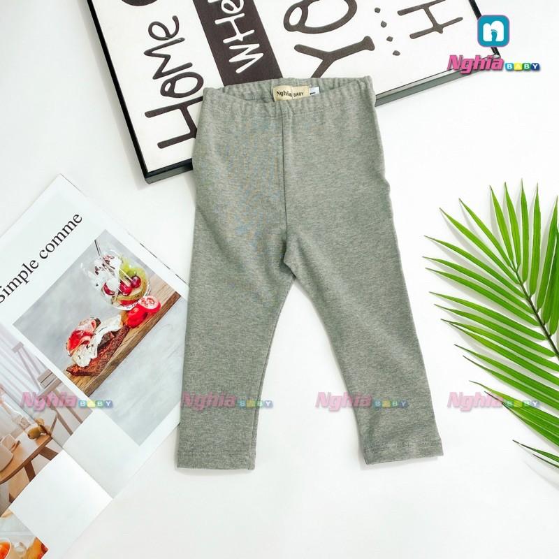 Quần legging dài NGHĨA BABY Q13 thun cho bé gái
