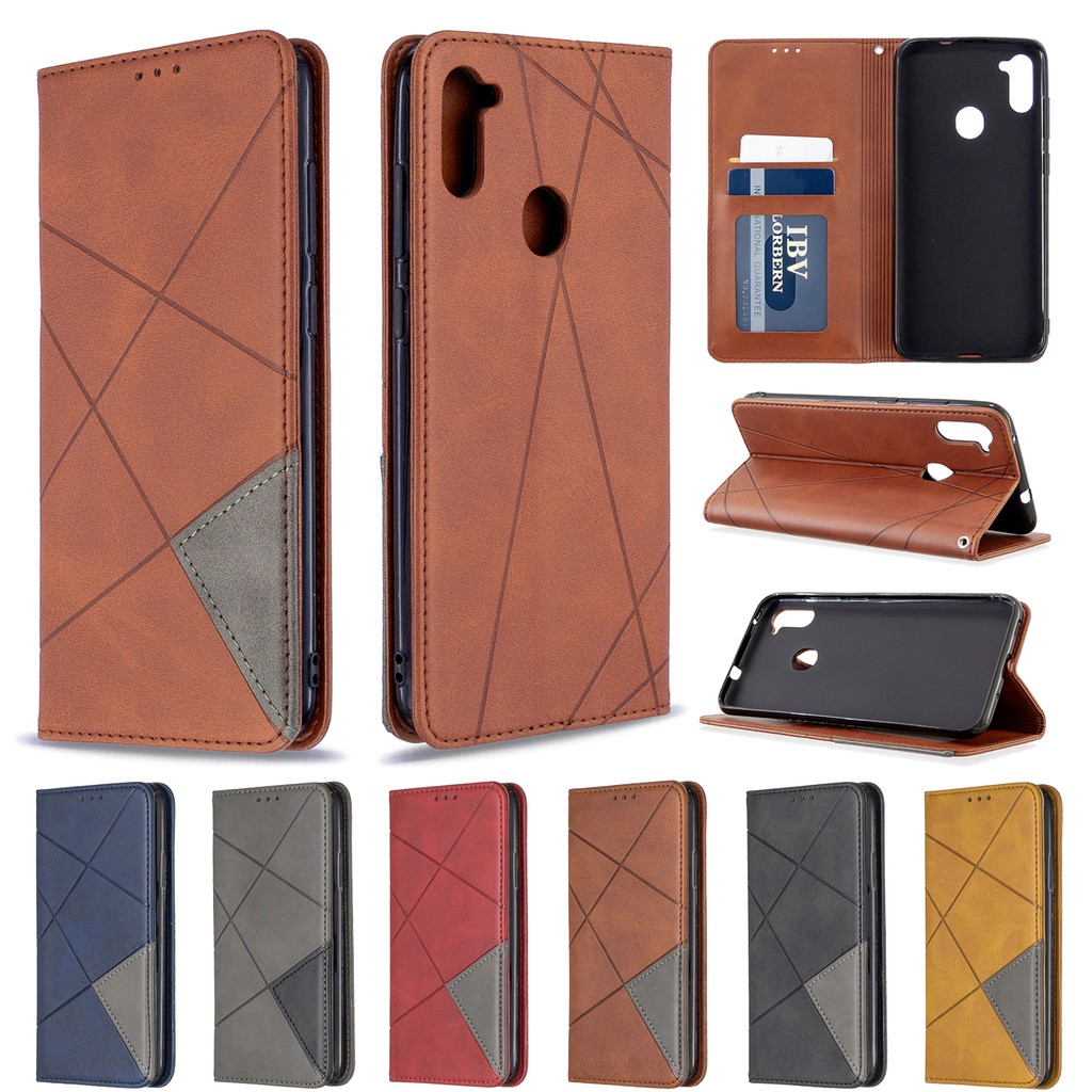 SAMSUNG GALAXY A11 BFX Leather phone cover case casing