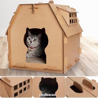 Nhà Búp Bê Tự Lắp Ráp Xinh Xắn Cho Mèo Cưng