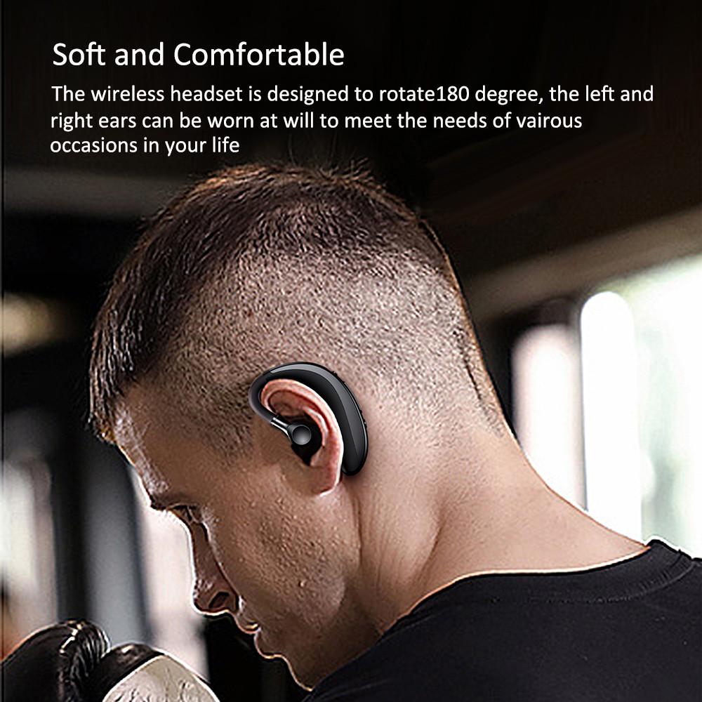 Tai Nghe Bluetooth 5.0 S300 Nhỏ Gọn Chống Thấm Nước Và Mồ Hôi Thích Hợp Cho Hoạt ĐộngThể Thao
