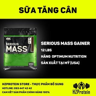 SERIOUS MASS 12lb (5,4KG) - SỮA TĂNG CÂN BỔ SUNG VITAMIN KHOÁNG CHẤT thumbnail
