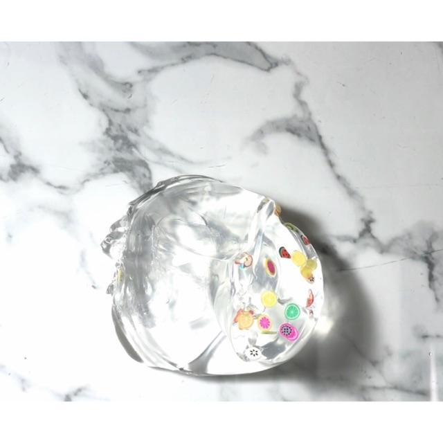 Slime trong nước hoa quả 🍏🍓🍉