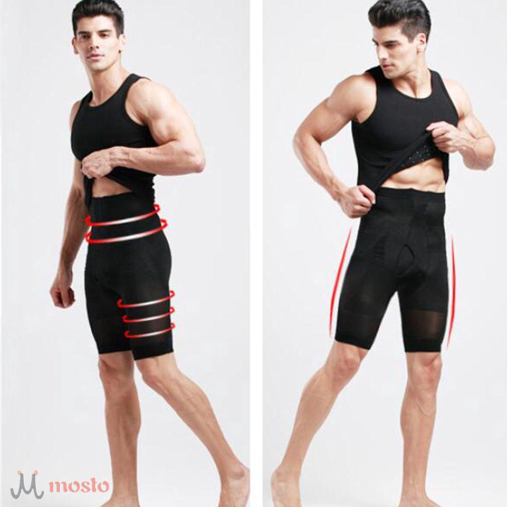 Ultra Lift Body Slimming Brief Shaper Men's High Waist Trainers Slimming Panties [MOSTO]