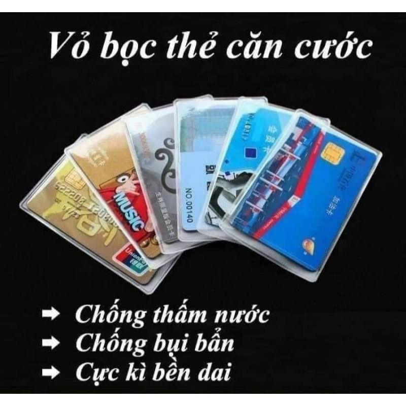 combo 10 vỏ bọc thẻ căn cước công dân