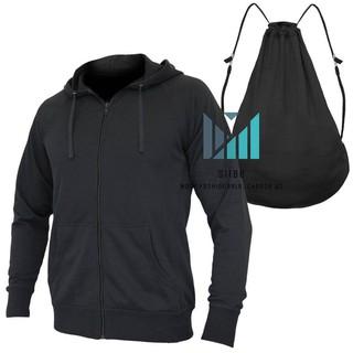 Áo khoác nam (HỖ TRỢ ĐỔI SIZE) áo nỉ HOODIE dây kéo UNISEX dày dặn 2 trong 1 tiện lợi, chuyển đổi thành balo