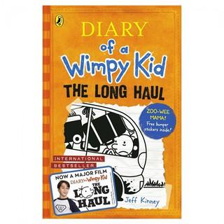 Truyện Nhật Ký Chú Bé Nhút Nhát Diary Of A Wimpy Kid 09 The Long Haul ( Bản Tiếng Anh) thumbnail