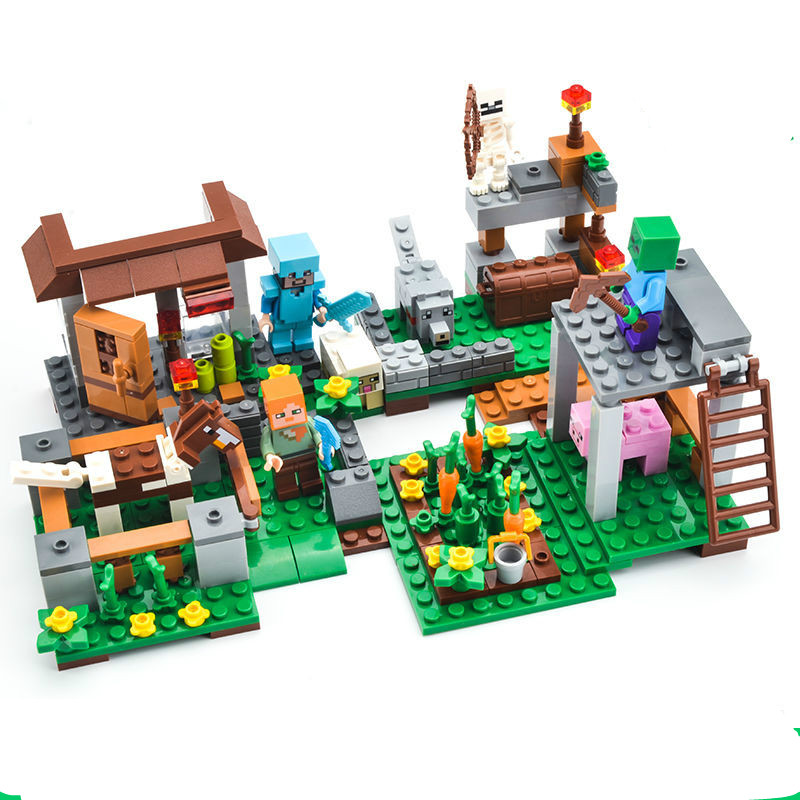 Mô Hình Lắp Ráp Lego Nhân Vật Benefit Kích Thích Trí Thông Minh Cho Bé 6 Tuổi
