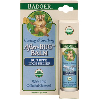 [BADGER] Sáp bôi trị ngứa do muỗi và côn trùng