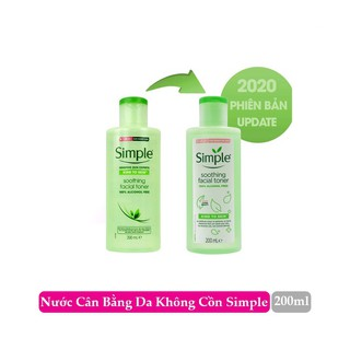 (NEW 2020)NƯỚC HOA HỒNG SIMPLE SOOTHING FACIAL TONER thumbnail