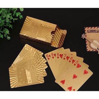 Đồ chơi Bộ Bài tây / Tú lơ khơ lá vàng hàng đẹp