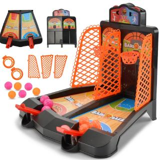 [Đồ chơi] cha-con interactive ngón tay đôi catapult sân bóng rổ đồ chơi trẻ em of cậu bé đồ chơi giáo dục Desktop