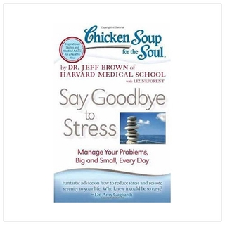 Sách - Chicken Soup for the Soul Say Goodbye to Stress Manage Your Problems, Big and Small, Every Day thumbnail