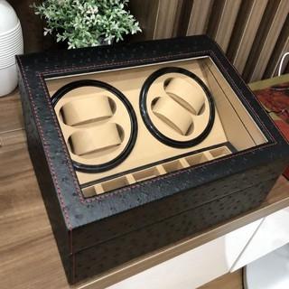 Hộp đựng đồng hồ cơ 4 xoay và 6 trưng bày FREESHIP Hộp lắc đồng hồ cơ thumbnail