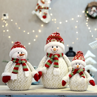 Búp Bê Trang Trí Giáng Sinh Hình Người Tuyết / Ông Già Noel