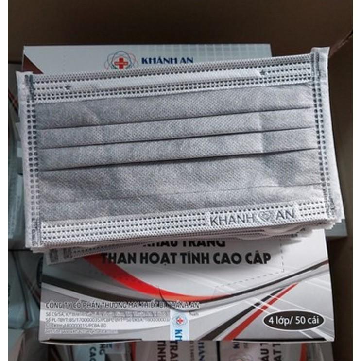 Khẩu trang y tế 4 lớp - Khẩu trang y tế 4 lớp khánh an