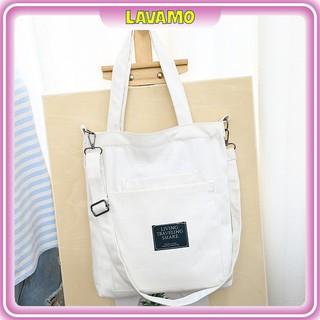 Túi vải bố trơn giá rẻ canvas đựng đồ quần áo thời trang giá rẻ TX04 thumbnail