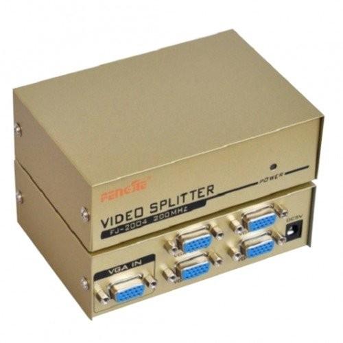 Bộ chia màn hình VGA 1 ra 4 FJ-2004 (Xám) -VN892