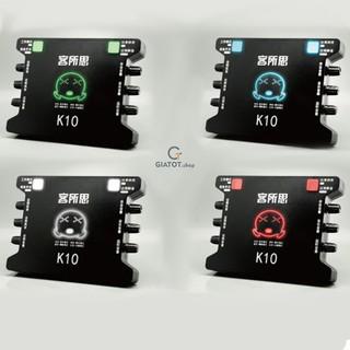 Sound card XOX K10 đẳng cấp âm thanh thumbnail