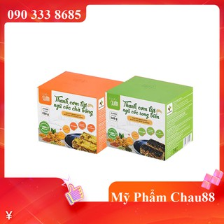 ( HỘP 10 GÓI )Thanh cơm lứt ngũ cốc Herbslim -Thơm ngon bổ dưỡng, hỗ trợ giảm cân
