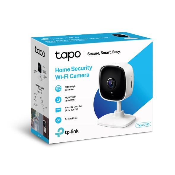 Camera IP Wifi TP-Link Tapo C100 1080p 2MP | Hàng Chính Hãng | Bảo Hành 24 Tháng