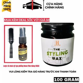 ( MUA KÈM DEAL SỐC 0đ ) Sáp vuốt tóc nam The Styling Wax 100g